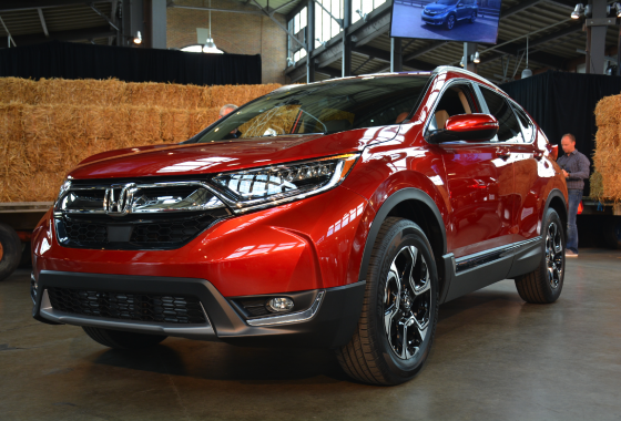 Next-gen Honda CR-V revealed in Detroit