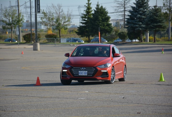 Hyundai Elantra Sport shows off its chops at Fun Day