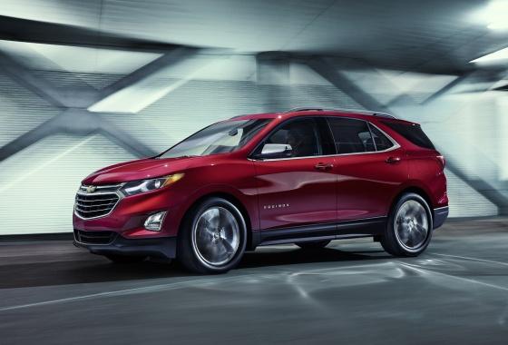 Chevrolet unveils 2018 Equinox