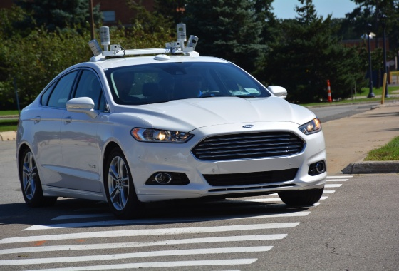 Ford prepares for autonomous decade