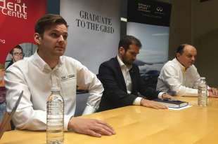 Infiniti and Renault Sport search for young talent