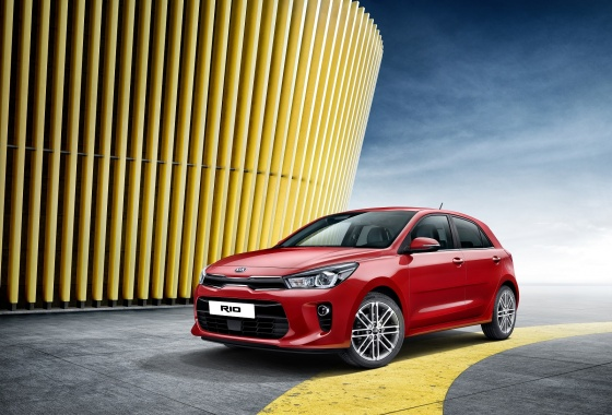 Kia unveils new Rio in Paris
