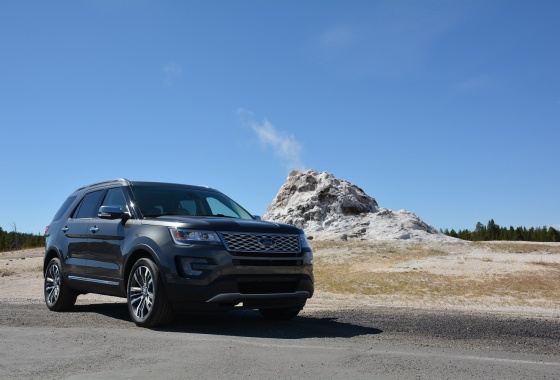 Going exploring, platinum-style with Ford