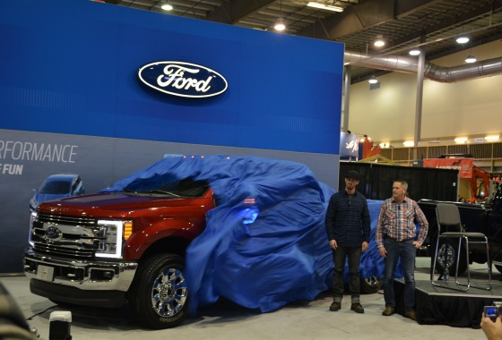 Ford Super Duty unveiled in cowboy country