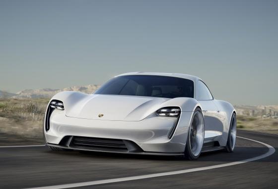 Porsche Mission E concept surprises in Frankfurt