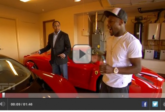 A look into Floyd Mayweather's garage