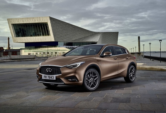 First pic of the Infiniti Q30 ahead of Frankfurt Motor Show