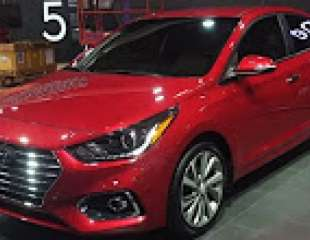 2018 Hyundai Accent global debut walkaround at CIAS