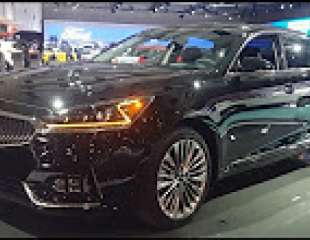 2018 Kia Cadenza walkaround at CIAS
