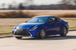2016 Lexus RC 350 - Fuel Economy Test